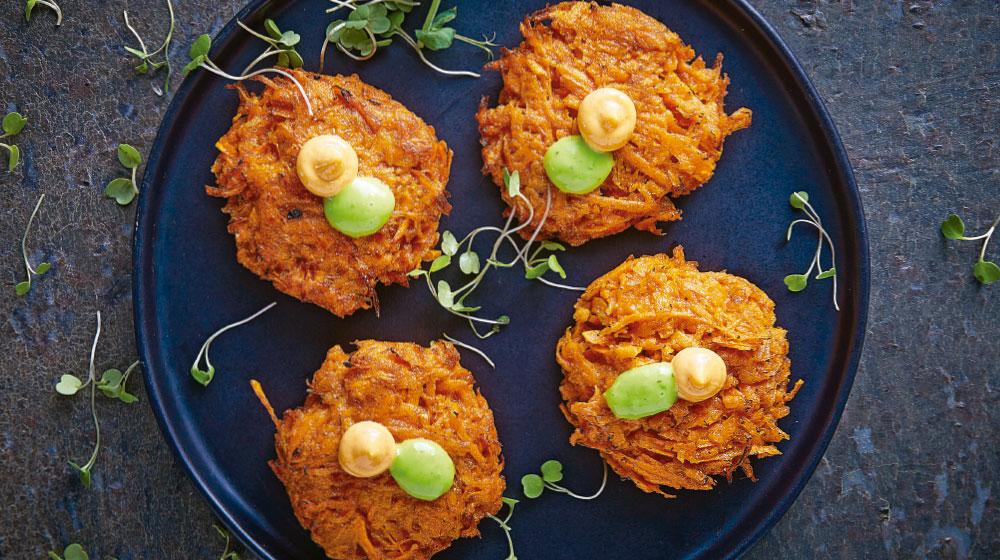 Tortitas: receta de zanahoria muy saludables y deliciosas