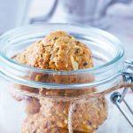 Como hacer galletas de avena con fibra