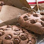Galletas de avena sin harina con chispas de chocolate