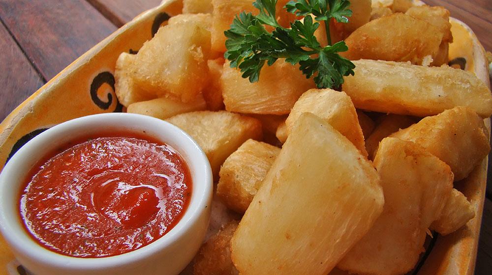 Deliciosa receta de yuca frita