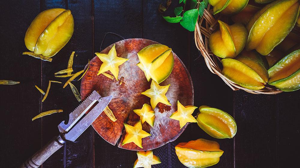 Beneficios de la carambola: la fruta estrella