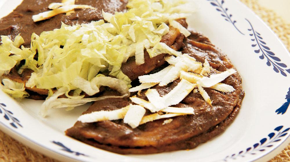 Enchiladas de leche estilo Durango
