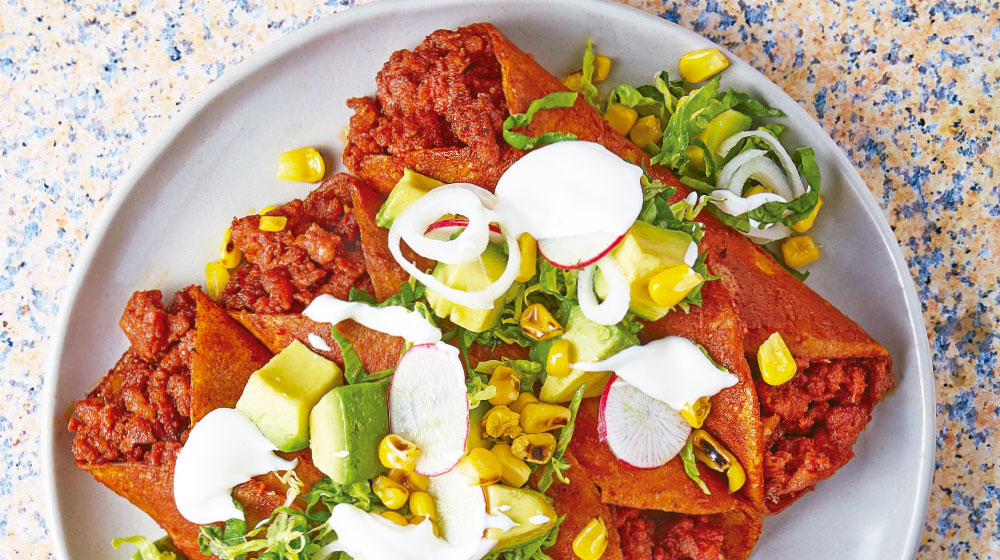 Enchiladas receta con chorizo