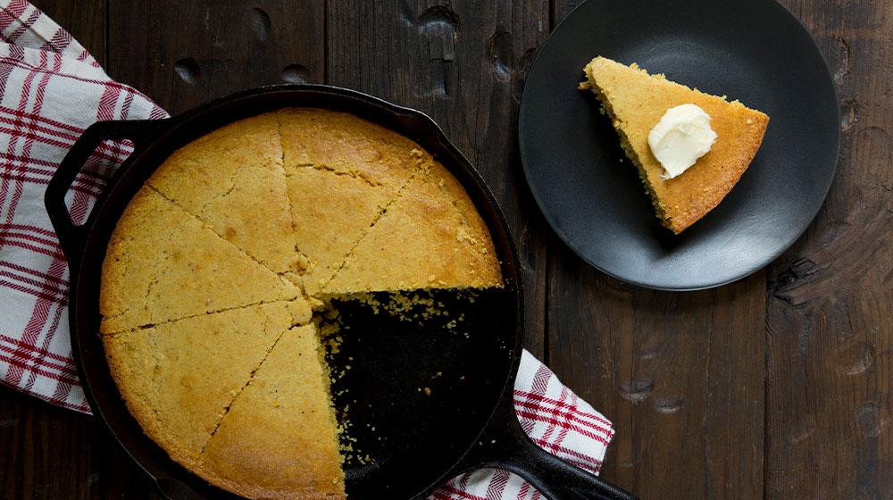 Pan de maíz: receta