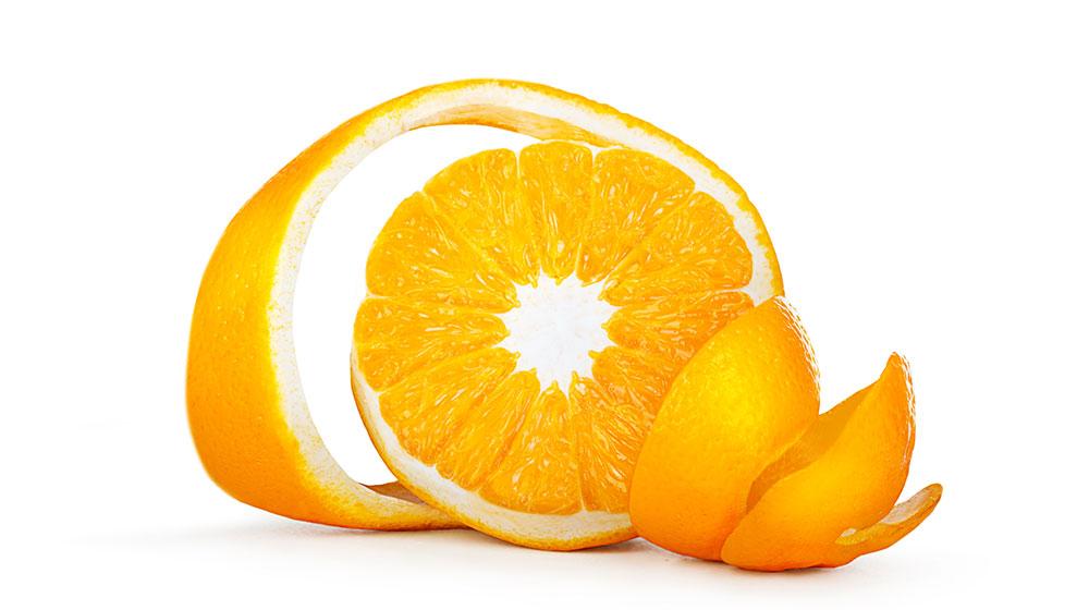 Usos prácticos de la cáscara de naranja