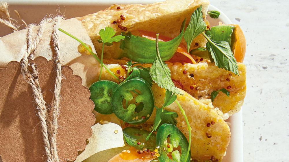 Baguette: receta: sándwich vietnamita
