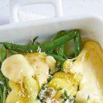 Ejotes recetas con gratinado de queso