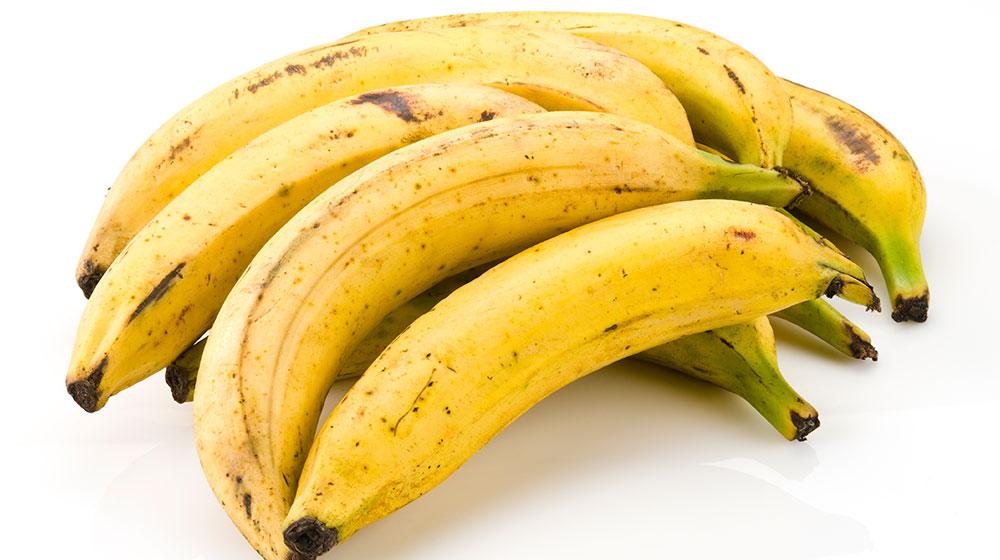 plátano para desayunar