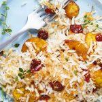 Recetas con plátano macho: arroz de coco y plátano