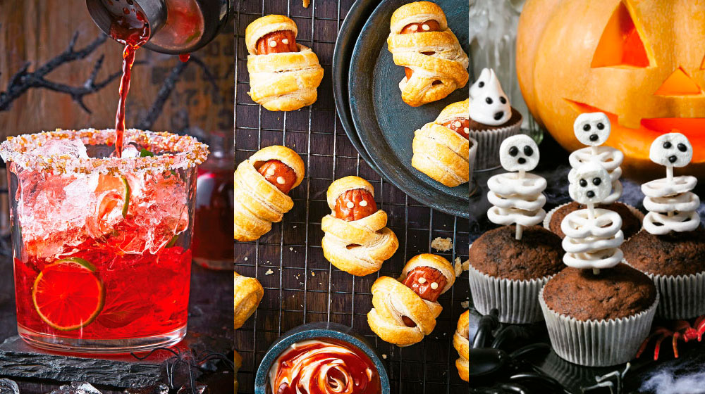 Recetas para fiesta de Halloween