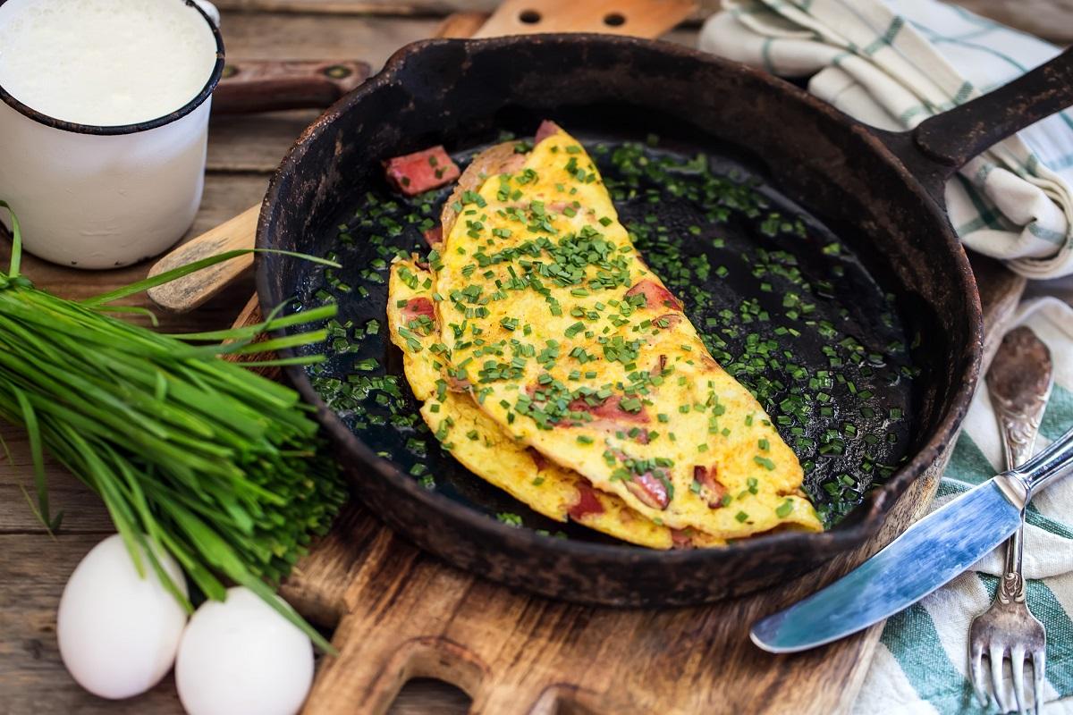 omlette huevo sarten comida delicioso omelettes
