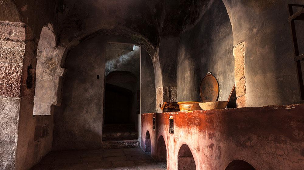 Cocina novohispana en convento