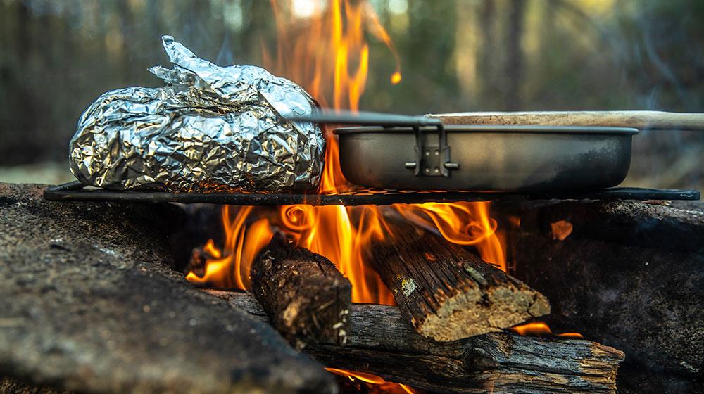 Leña para carne asada