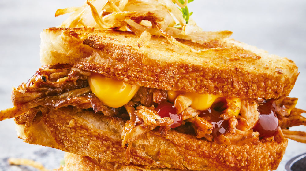 Sándwich de carnitas
