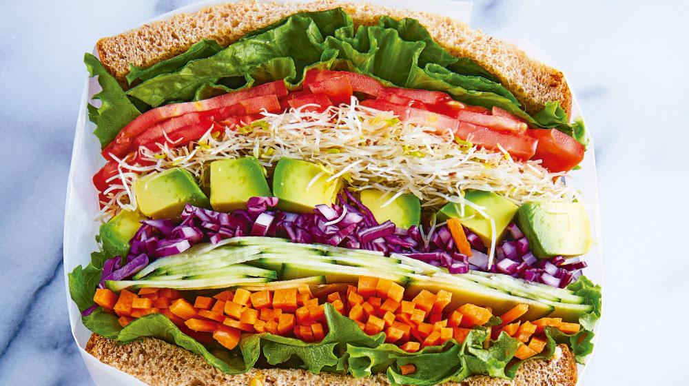 Sándwich saludable para cenar
