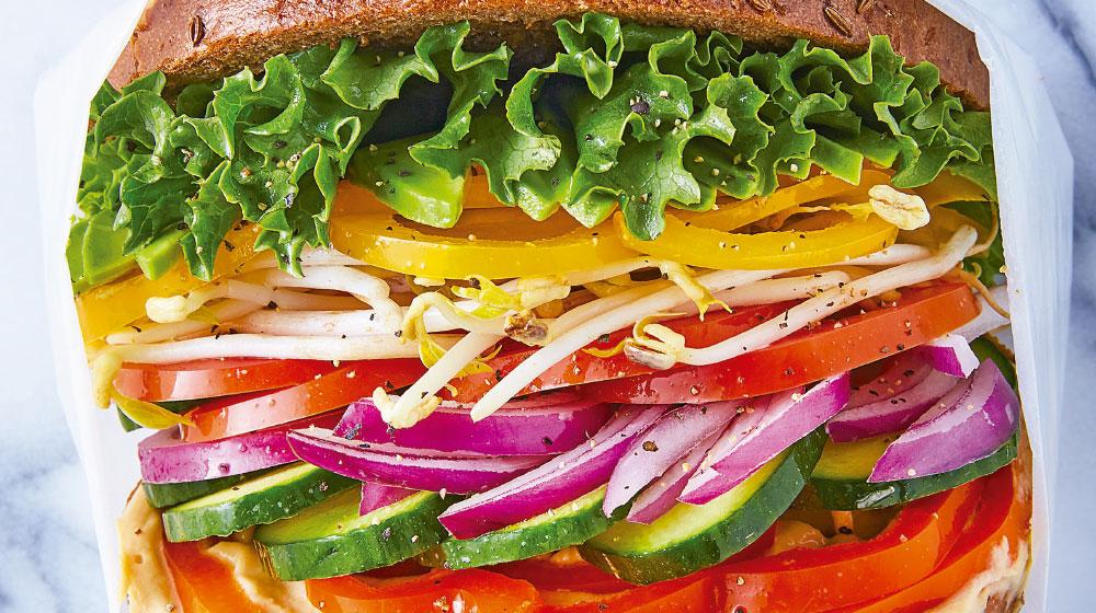 Sándwich saludable para desayunar