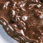 Turrón español de chocolate