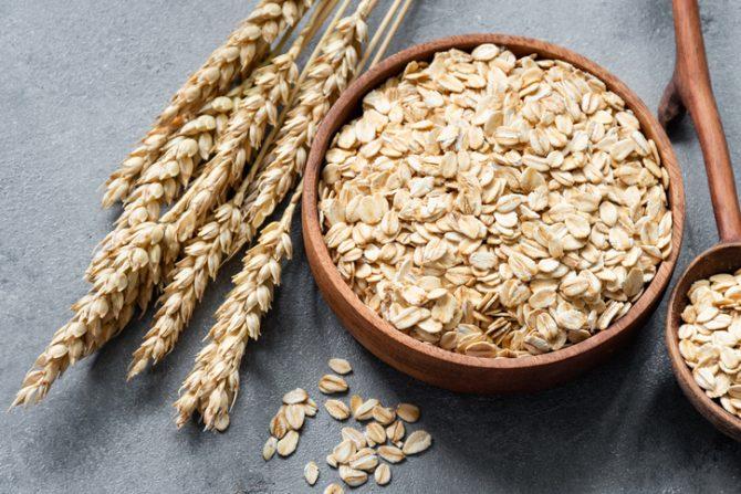Avena cereales comida saludable para bajar de peso