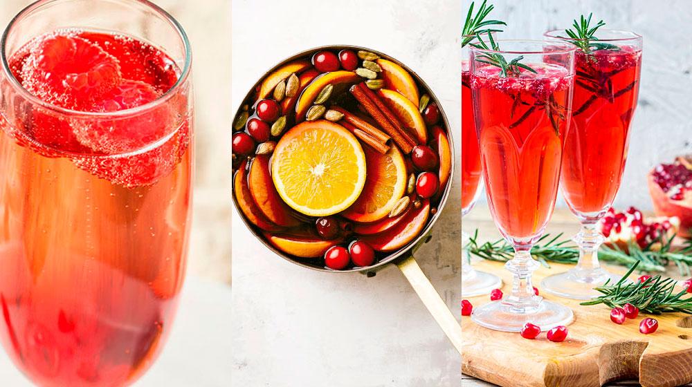 Bebidas tradicionales para brindar