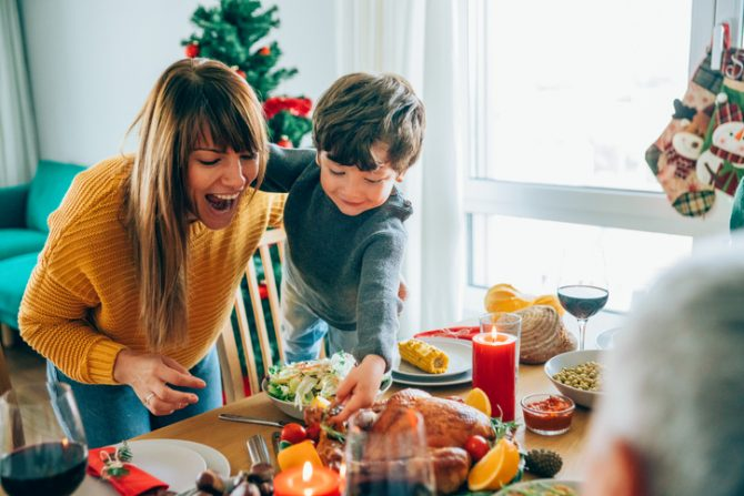 Menu navideno economico vs premium; cenas para todos los bolsillos