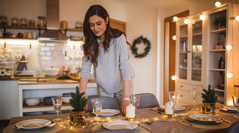 Cenas saludables navideñas