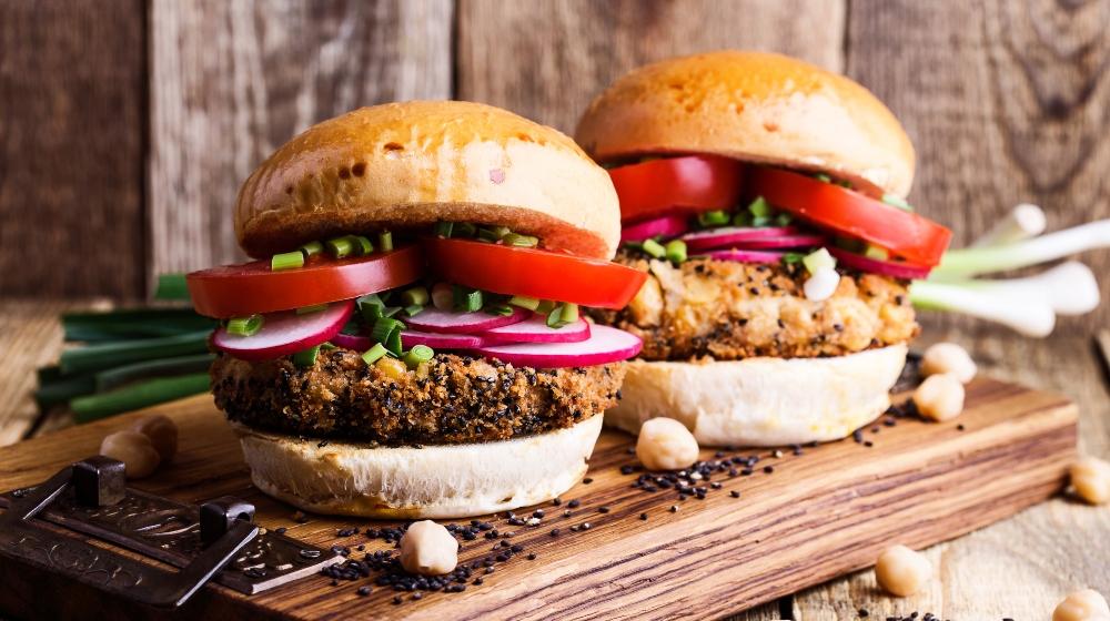 comida saludable recetas de hamburguesas
