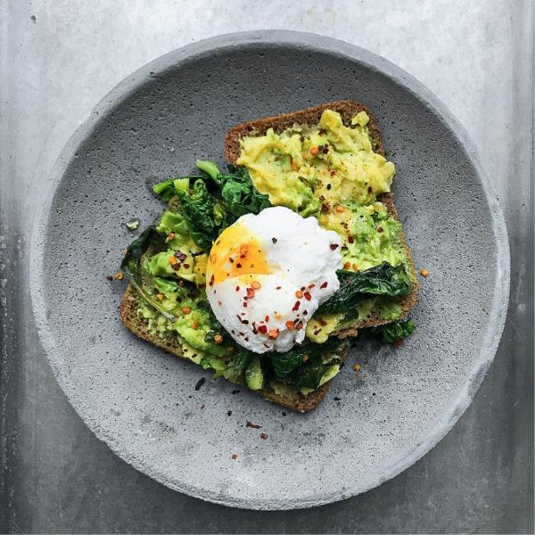 Huevo en pan
