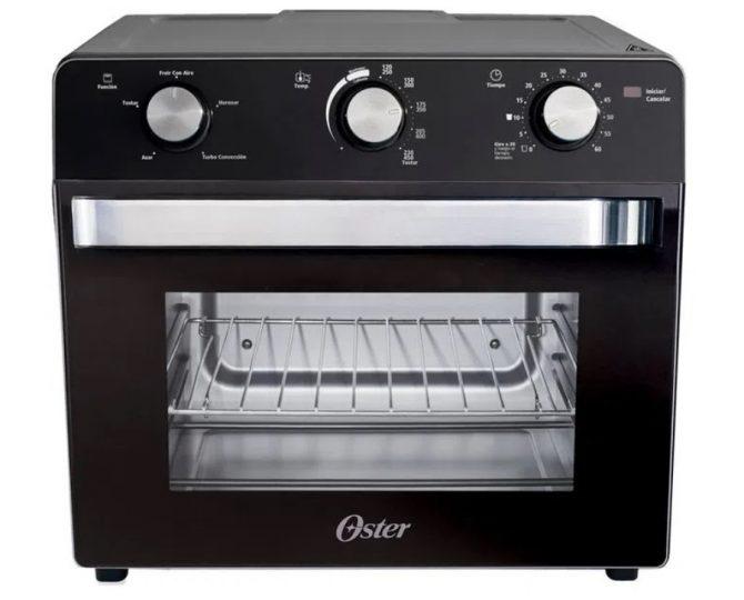 horno con freidora de aire oster