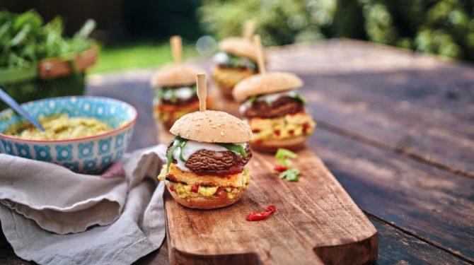 recetas saludables hamburguesas