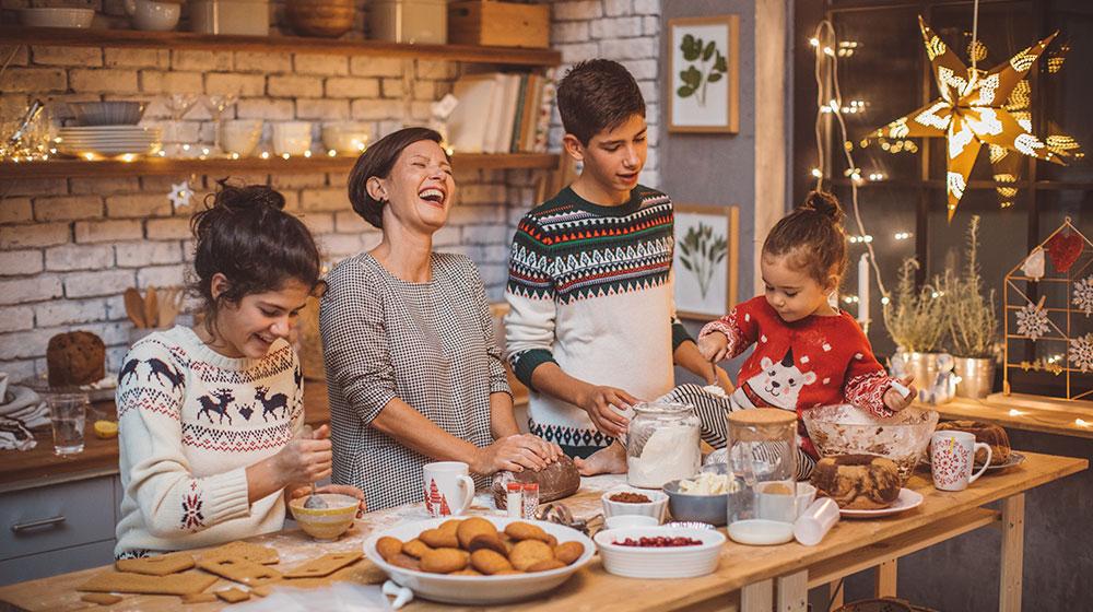 Tradiciones navideñas caseras