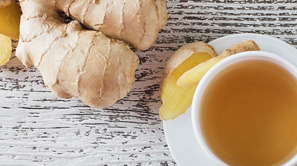Beneficios del té de jengibre