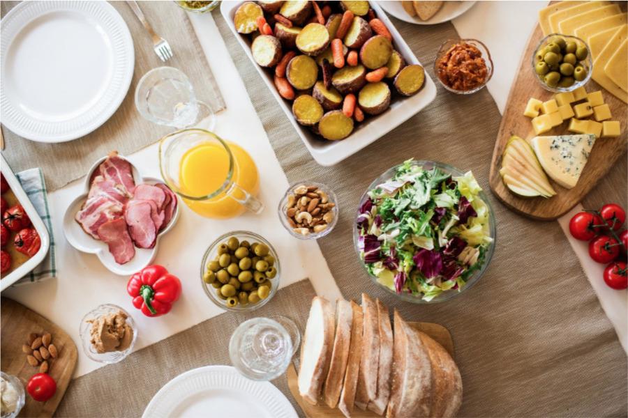 Alimentos saludables para la salud