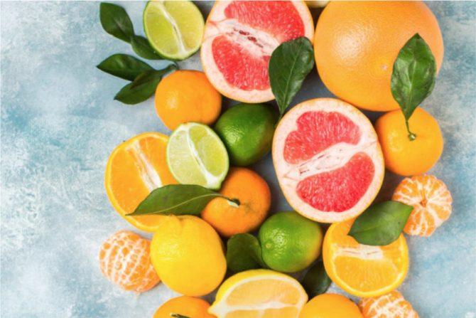 Alimentos cítricos (saludables)