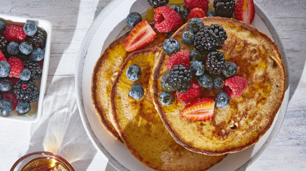 Hot cakes saludables