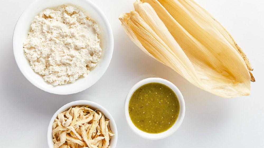Ingredientes tamales