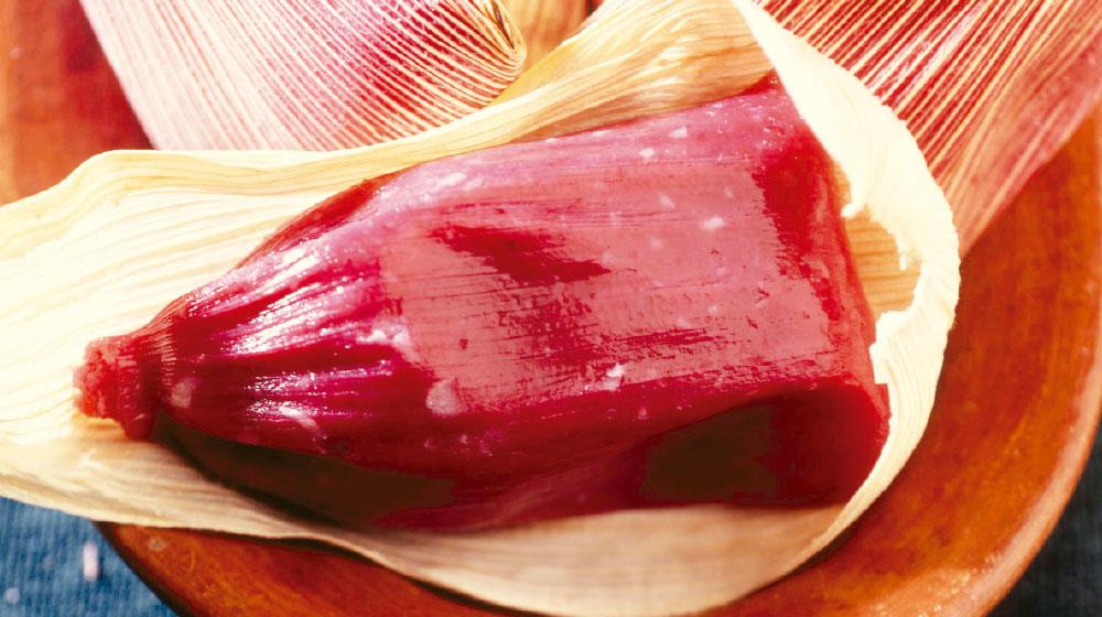 Receta de tamales de dulce sabor zarzamora