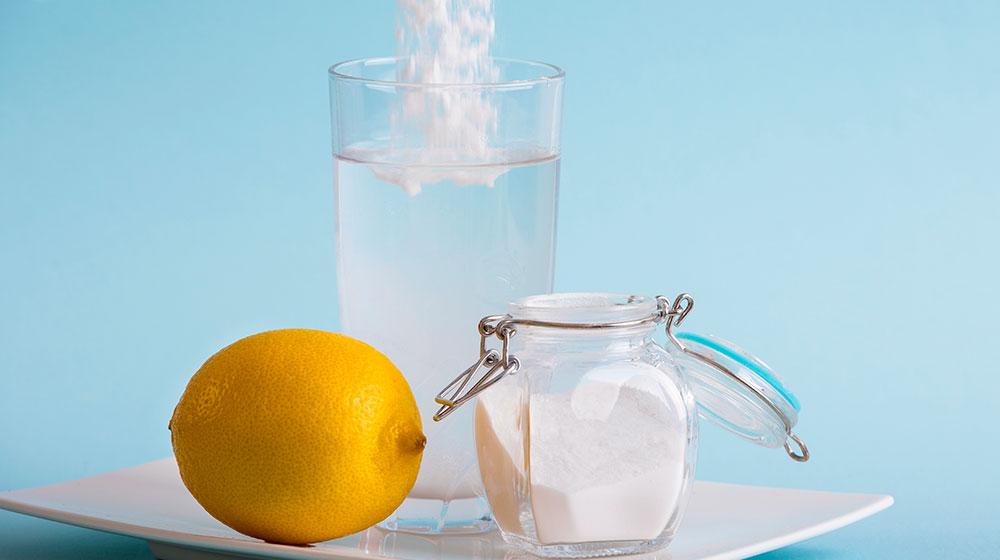 Bicarbonato con limon