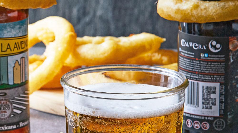 Como hacer aros de cebolla con cerveza