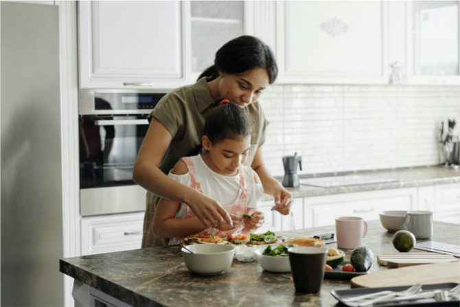 Comida saludable para niños
