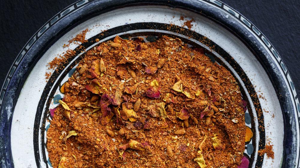Ras el hanout: mezcla de especias y condimentos