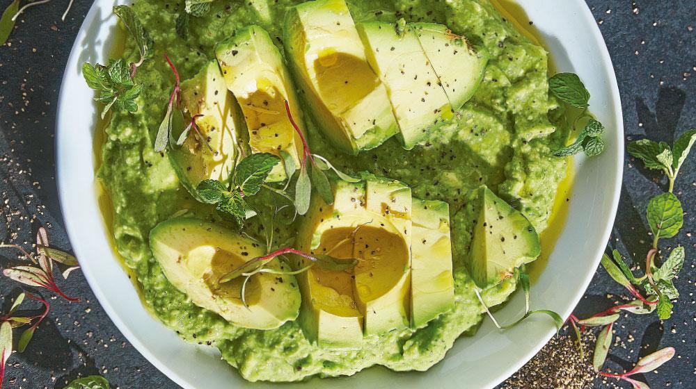 Receta de guacamole tradicional