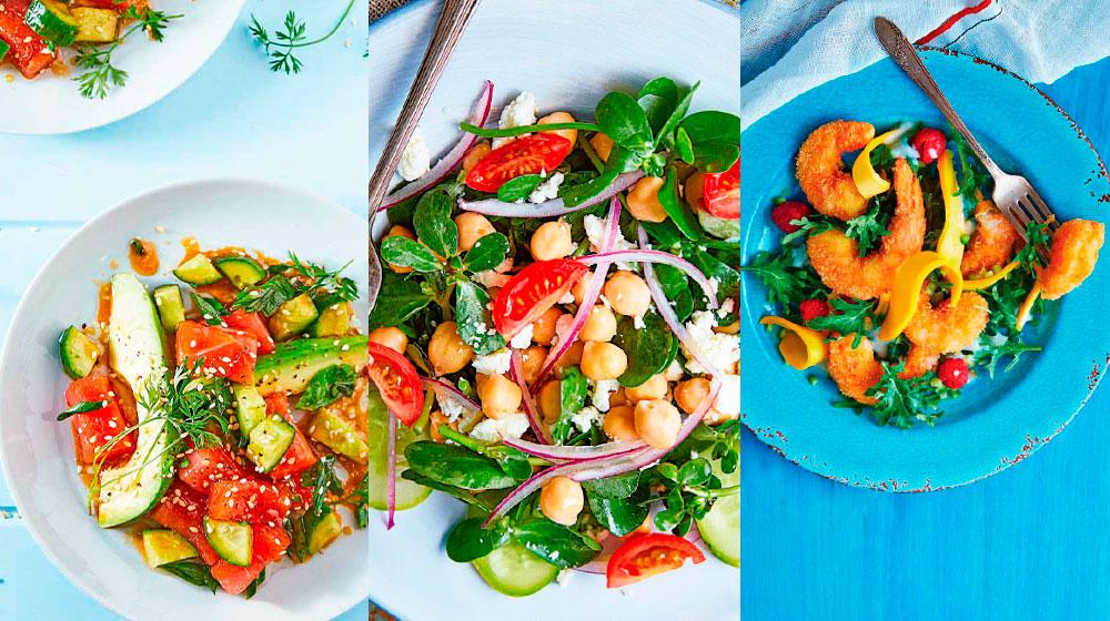Recetas ensaladas saludables para Cuaresma