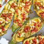 Recetas keto: calabazas rellenas de queso y chorizo