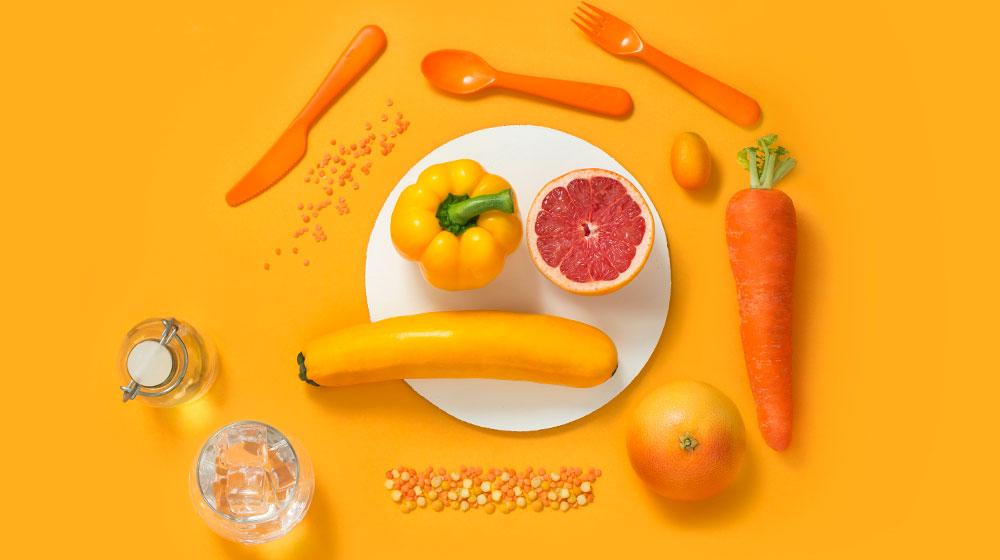 Alimentos color naranja