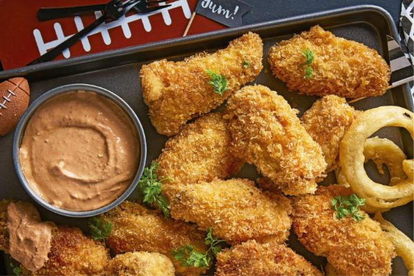 Recetas con pollo, recetas de pollo: Alitas crujientes súper baratas y fáciles de preparar