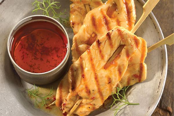 Recetas con pollo, recetas de pollo: Aplanaditas de pollo con chile y ajo