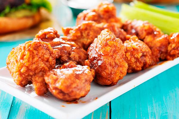 Recetas con pollo, recetas de pollo: Boneless de pollo con salsa de mango