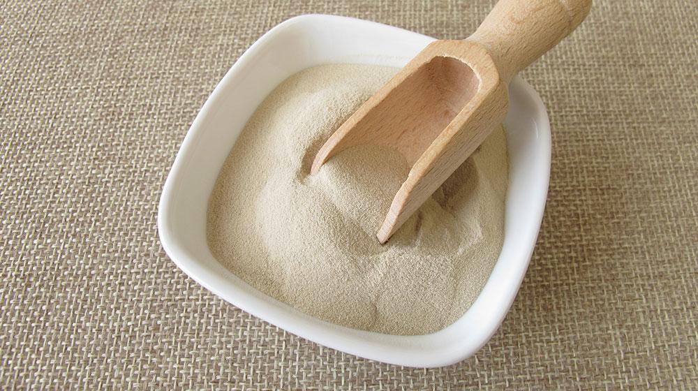 Fertilizantes orgánicos: gelatina sin sabor