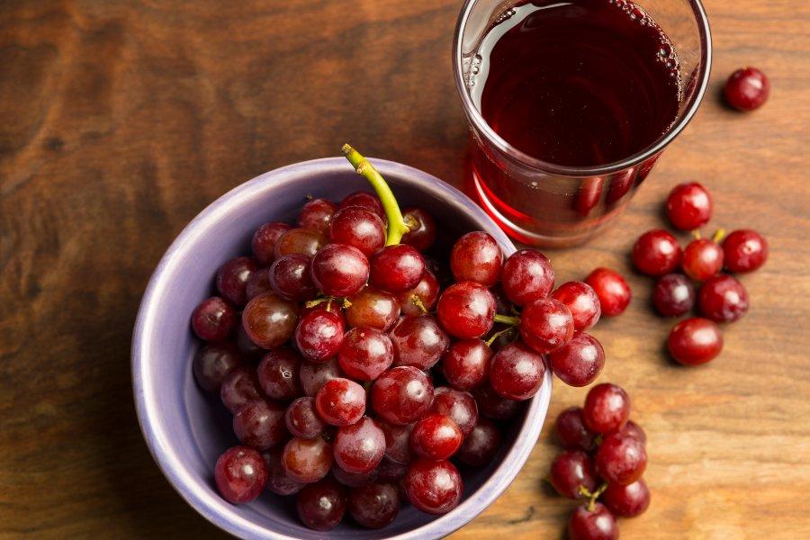 jugo rojo antioxidante