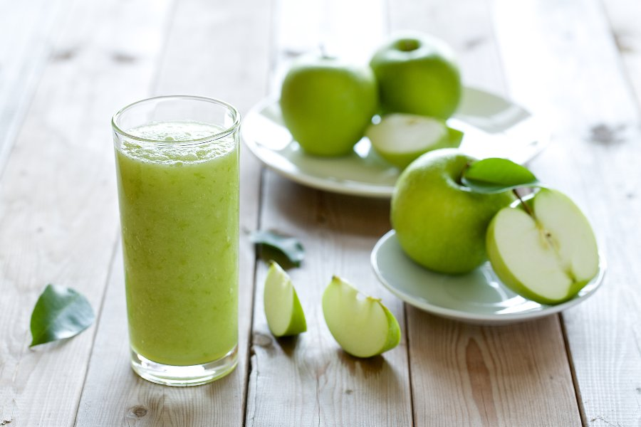 jugo de verduras y jengibre